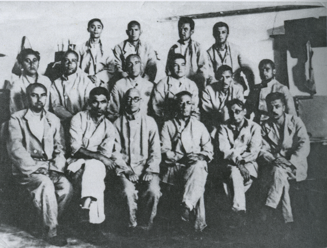 Mosa Pijade, brothers Demajo (Sonya's uncles) and the rest of politial (Communist) prisoners of the Kingdom of Yugoslavia