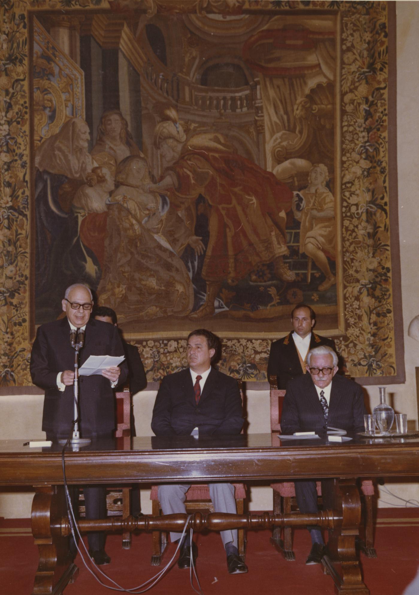 A ceremony in honor of Odoardo Focherini, Rome 03.05.1971