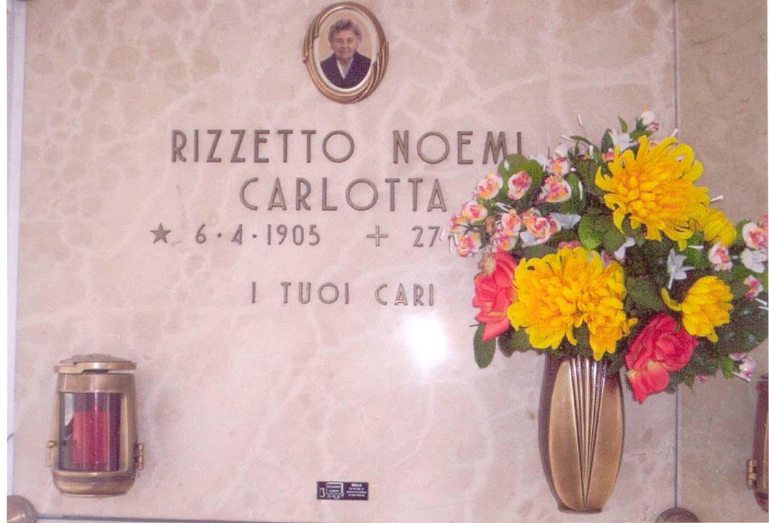 Rescuer Rezzetto Carlotta's grave