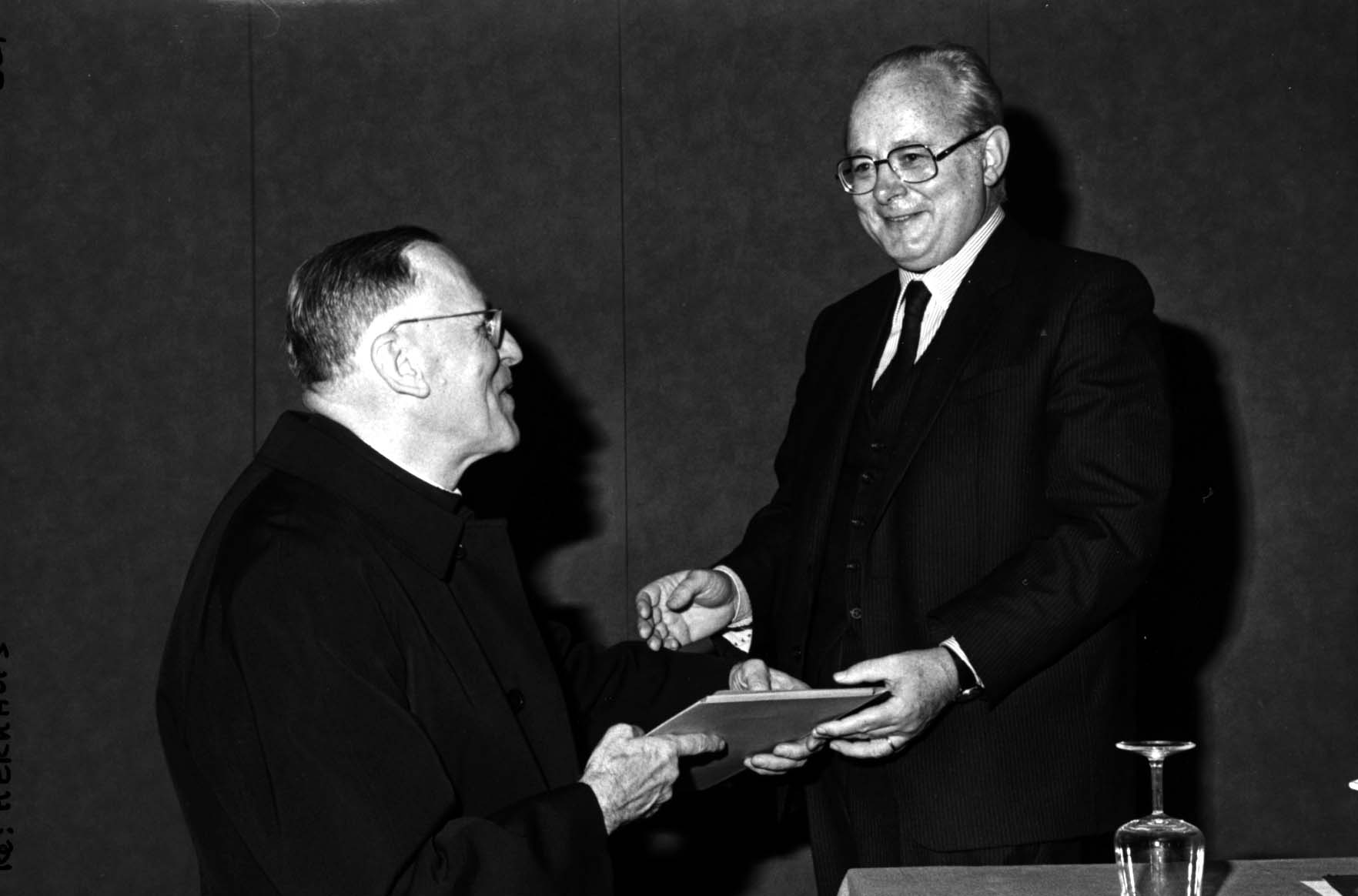 Ceremony in honor of Louis Kerkhofs.