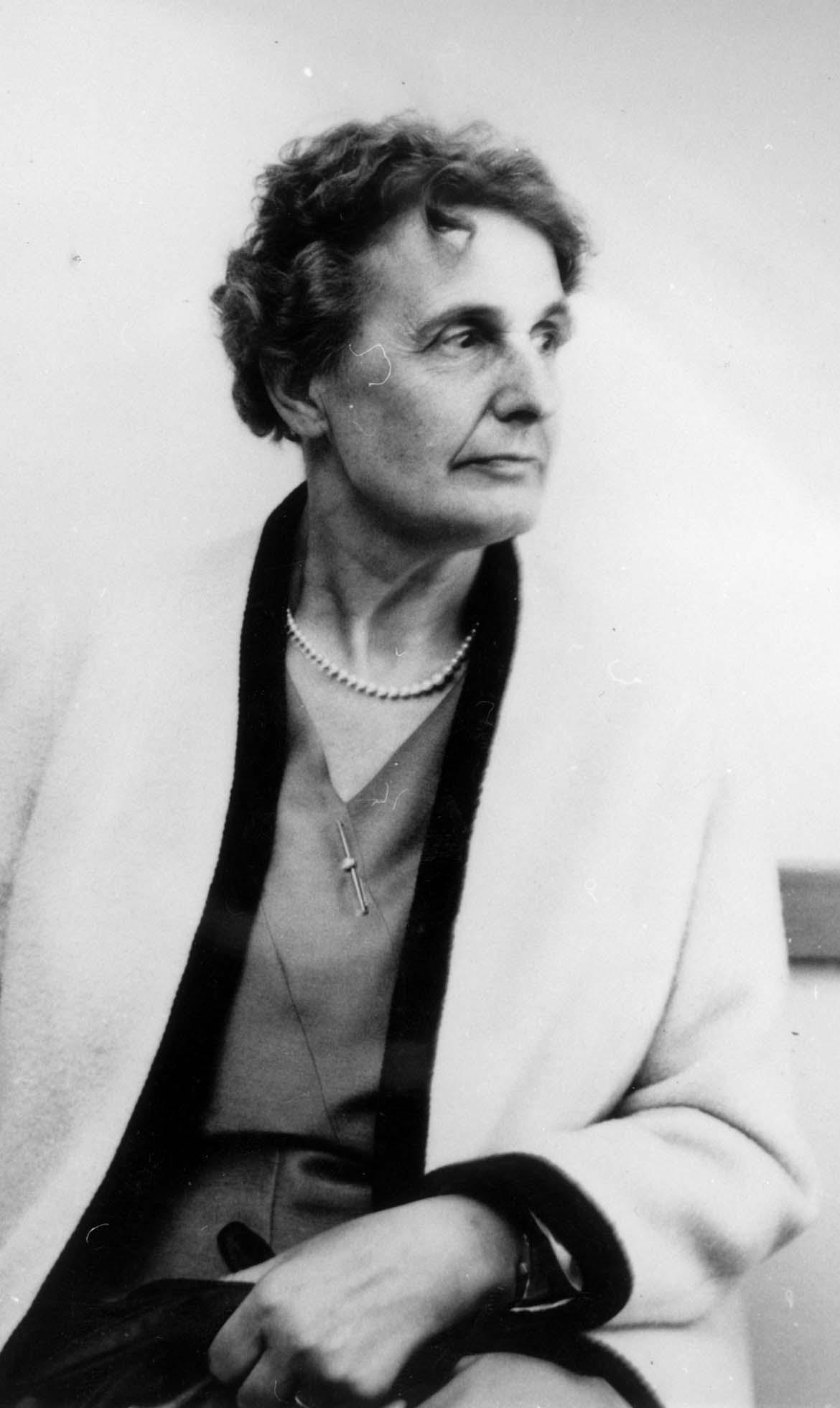 Adelaide Hautval. Yad Vashem, 17.04.1966